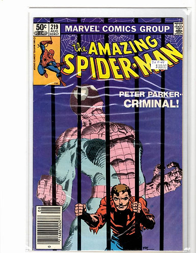 Amazing Spider-man V1 #219 F/VF (7.0)
