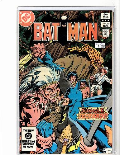 Batman V1 #365 NM- (9.2)