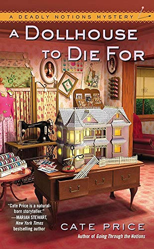 A Dollhouse to Die For by Price Cate