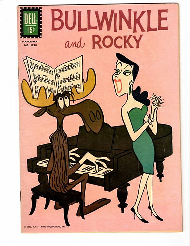 BULLWINKLE AND ROCKY - FOUR-COLOR #1270 F/VF (7.0)