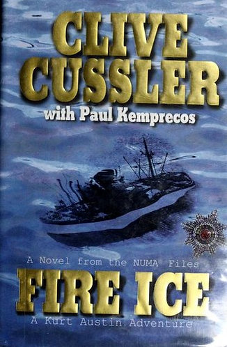 Fire Ice by Cussler Clive