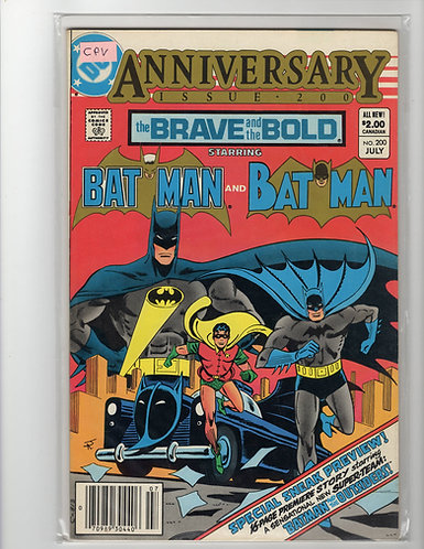 Brave and the Bold #200- NM (Canadian Price Variant)