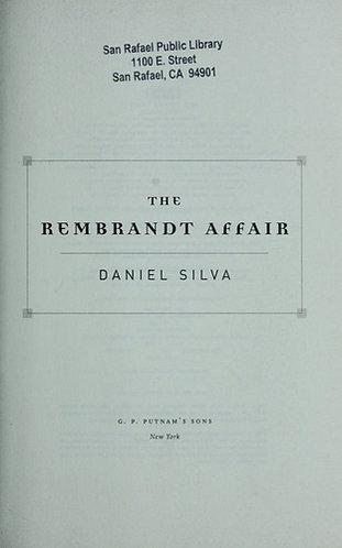 The Rembrandt Affair by Silva Daniel