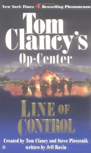 Op-center Line Of Control by Clancy Tom