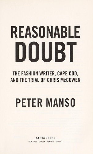 REASONABLE DOUBT by Manso Peter