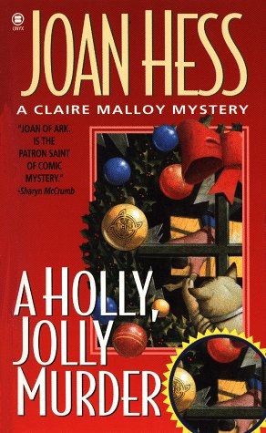 A Holly  Jolly Murder by Hess Joan