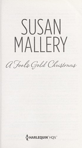 A Fool's Gold Christmas by Mallery Susan