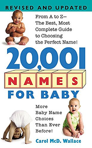20 001 Names For Baby by Wallace Carol McD.