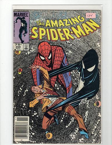 Amazing Spider-Man #258 - F/VF - (Canadian Price Variant)