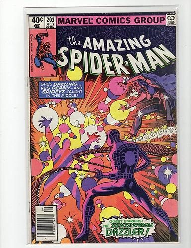 Amazing Spider-Man #203- F/VF