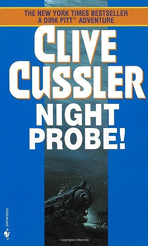 Night Probe by Cussler Clive