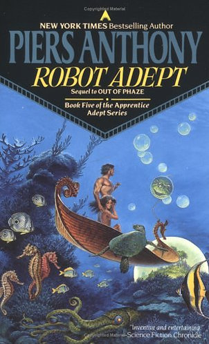 Robot Adept by Anthony Piers