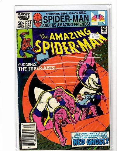 Amazing Spider-man V1 #223 (6.0)