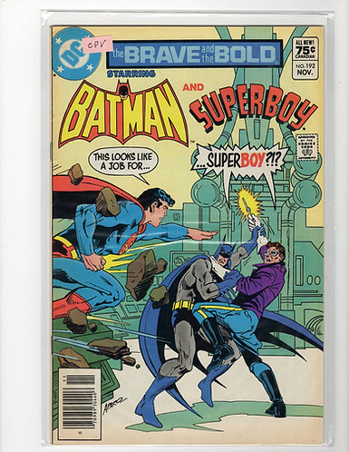 Brave and the Bold #192 - NM- (Canadian Price Variant)
