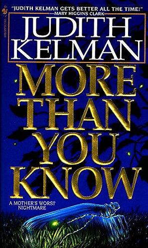 More Than You Know by Kelman J