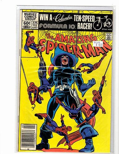 Amazing Spider-man V1 #225 VG (4.0)