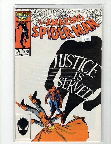 Amazing Spider-man #278 - NM+