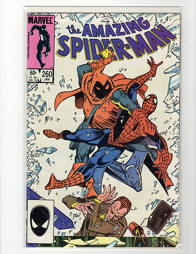 Amazing Spider-Man #260 - F/VF - signed by inker on P1