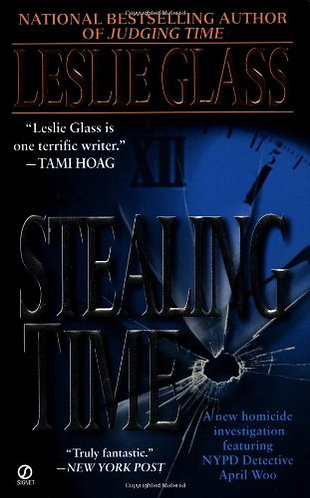 Stealing Time by Glass Leslie