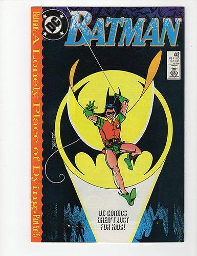 Batman #442 - 1st Tim Drake as Robin