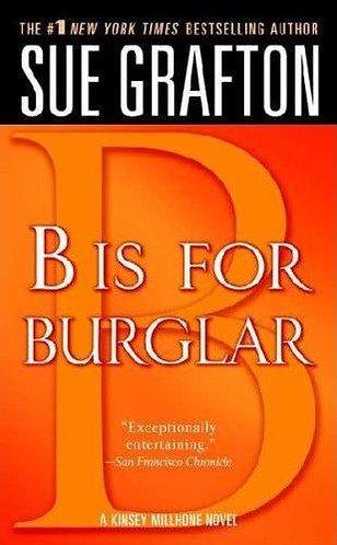 B Is For Burglar by Grafton Sue