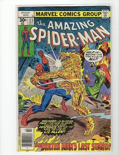 Amazing Spider-Man #173 - VG/F