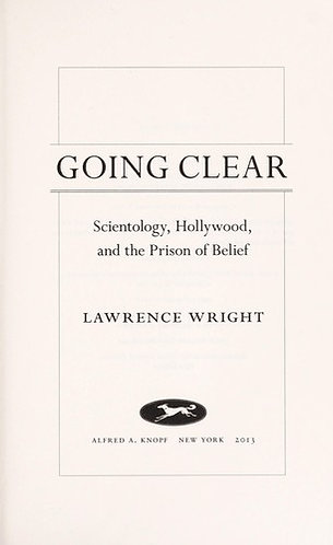 Going Clear - by Wright Lawrence