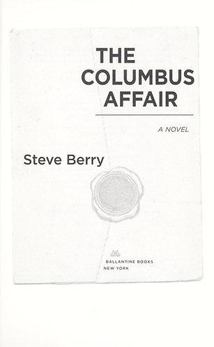 The Columbus Affair by Berry Steve