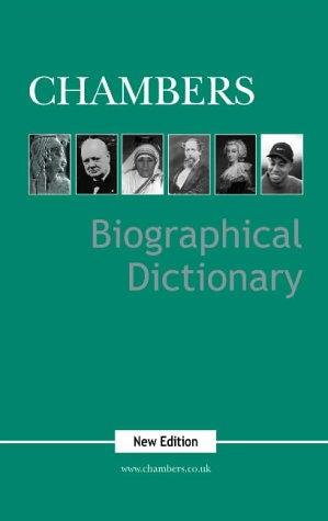 Biogrphical Dictionary by Chambers