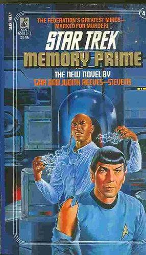 Star Trek Memory Prime by Reeves-steve