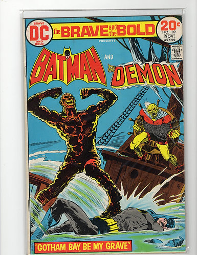 Brave and the Bold #109 - VF-