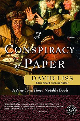 A Conspiracy Of Paper by Liss David