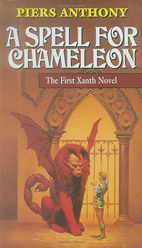 A Spell for Chameleon by Anthony Piers