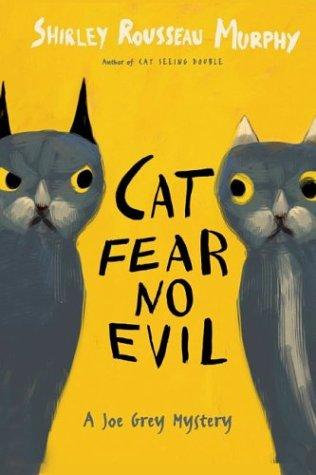 Cat Fear No Evil by Murphy Shirl