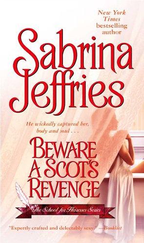 Beware A Scot's Revenge by Jeffries Sabrina