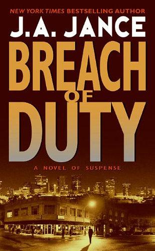 Breach Of Duty by Jance J.a.