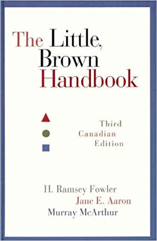 The Little Brown Handbook by Fowler Ramsey