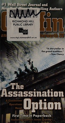 The Assassination Option by Griffin W.E.B.