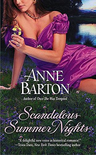 Barton Anne - Scandalous Summer Nights