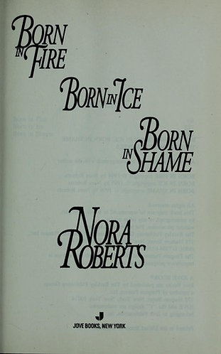 Born Series by Roberts Nora