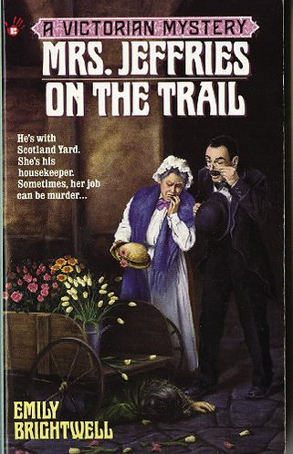 Mrs. Jeffries On The Trail by Brightwell Emily
