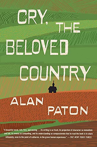 Cry the Beloved Country by Paton Alan