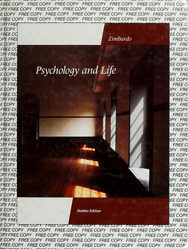 Psychology and Life by Zimbardo
