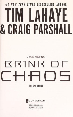 BRINK OF CHAOS by Lahaye Tim