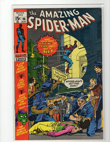 Amazing Spider-man #98 - F/VF