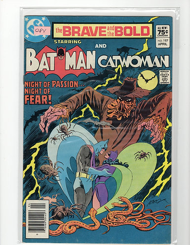 Brave and the Bold #197 - NM- (Canadian Price Variant)