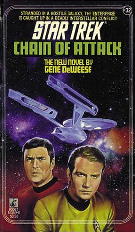 Star Trek Chain Of Attack by Deweese Gene