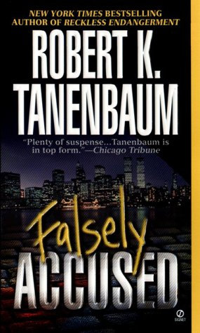 Falsely Accused by Tanenbaum Robert K.
