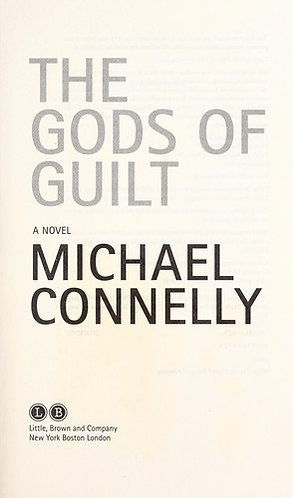 The Gods of Guilt by Connelly Michael