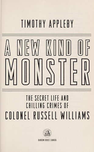 A New Kind of Monster by Appleby Timothy